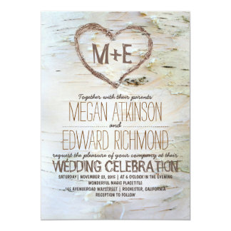 Tree Wedding Invitation Ancient Elm
