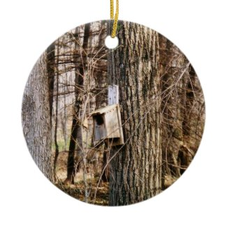 Bird House Ornament ornament