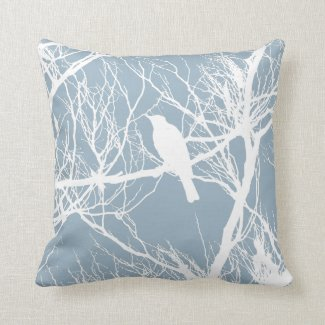 Bird silhouette Pillow