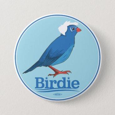 Birdie Sanders Pinback Button