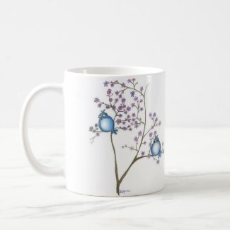 Birds and Blossoms Mug mug