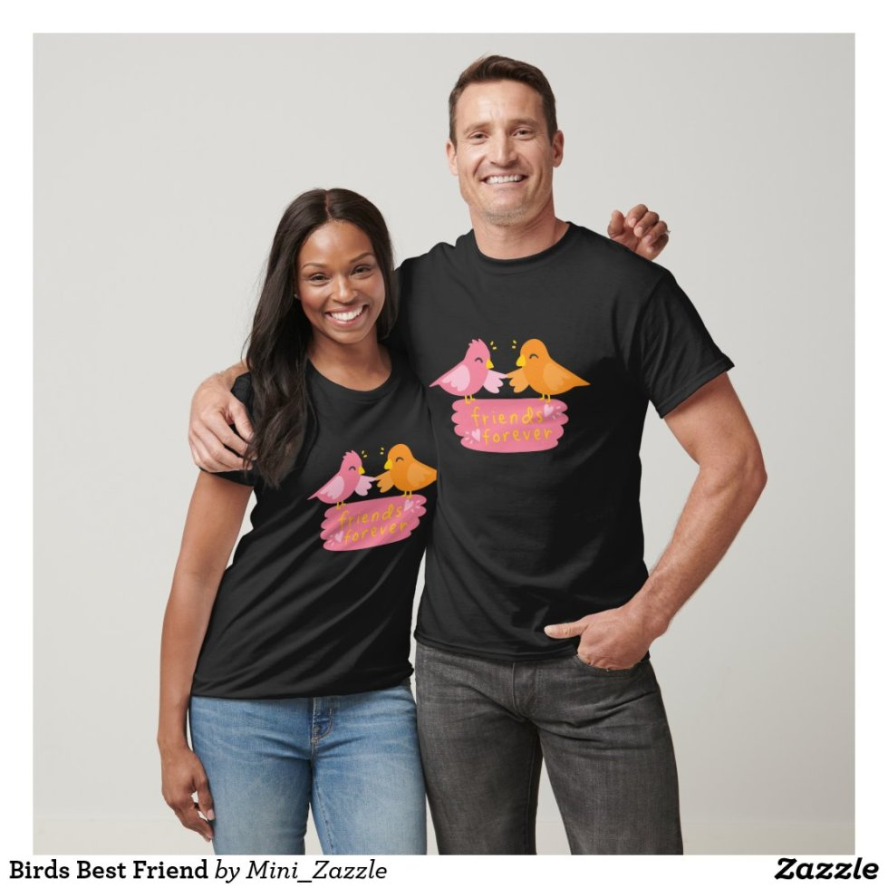 Birds Best Friend T-Shirt