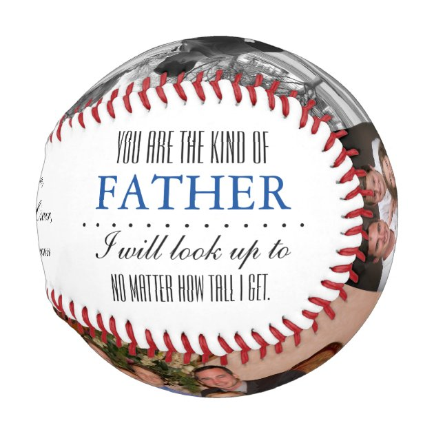 Birthday/ Father's Day Baseball Gift for Dad | Zazzle