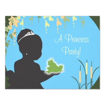 Birthday Invitation - Princess & Frog