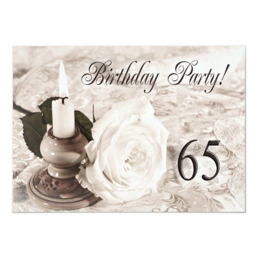 Birthday Invitations 50 Years Old