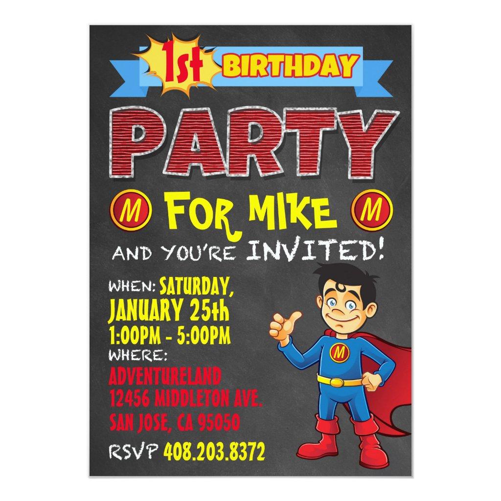 wow party invites