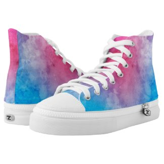 Bisexual Pride LGBT Printed Shoes