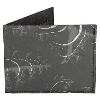 Black and White High Gloss Fractal Art