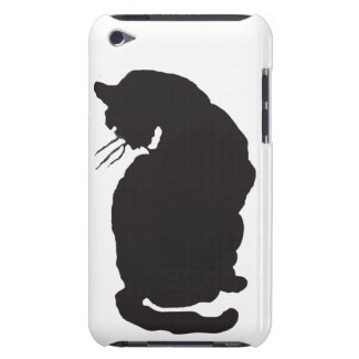 Black Cat Iphone 4 4s Case from Arthur Rackham Barely There Ipod Covers