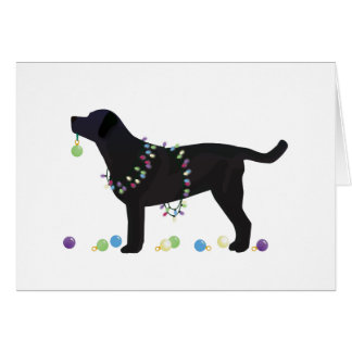 Chocolate Labrador Retriever Christmas Cards Zazzle