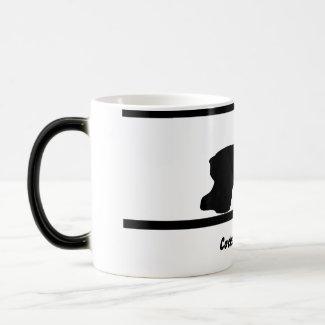 Black n White Cocker Spaniel Mug