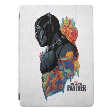 Black Panther | Black Panther Tribal Graffiti iPad Pro Cover