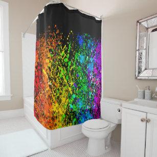glow in the dark shower curtains zazzle