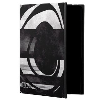Black/White Grunge Abstract Ipad Air Cases