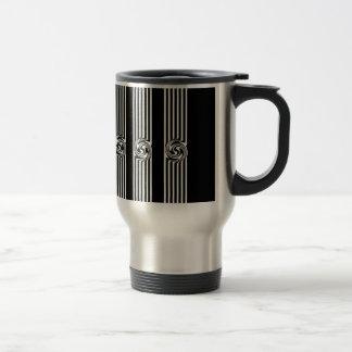 Black & White Swirl Burst Mug