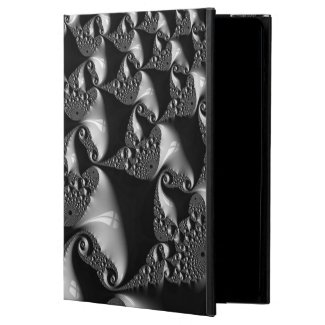 BLK &White Elegant fractal Ipad Air POWIS Case
