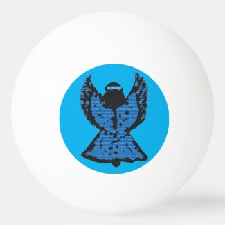 Blue Angel Ping Pong Ping-Pong Ball