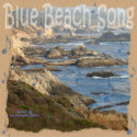 Blue Beach Song™ - Square Magnet zazzle_magnet