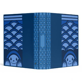Blue Bear Scales Binder binder