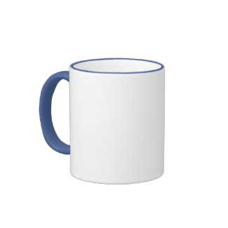 Blue Flower and Pony mug mug