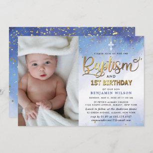 baptism and birthday invitations zazzle