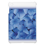 Blue Hydrangea Blossoms ipad mini cases