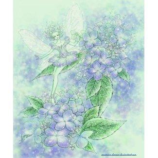 Blue Hydrangea Poster print