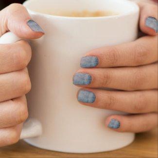 BLUE JEANS TEXTURE Minx Nail Wrap