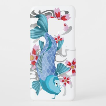 Blue Koi Fish Case-Mate Samsung Galaxy S9 Case
