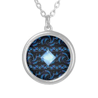 Blue Ocean Personalized Necklace
