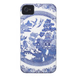 Blue Willow pattern casemate cases