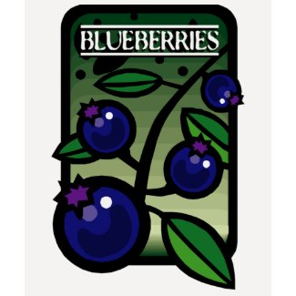 Blueberries shirt