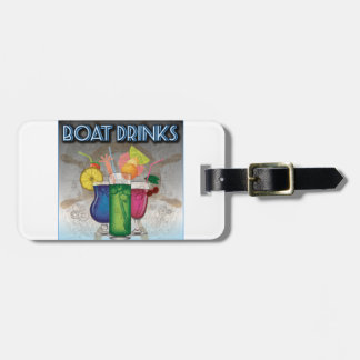 Boat Drinks Bag Tag