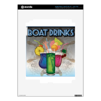 Boat Drinks iPad 3 Skin
