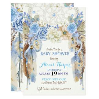 Watercolor Pea Feathers Vintage Wedding Invitations