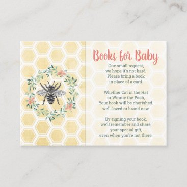 Books for baby card gender neutral baby shower