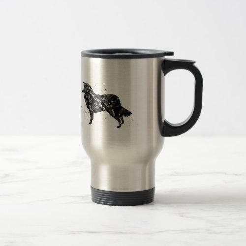 Border Collie Travel Mug