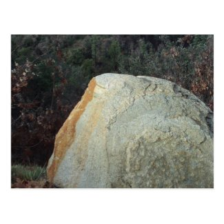Boulder In The San Bernardino Mountains Postcard
