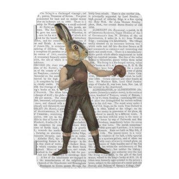 Boxing Hare iPad Mini Cover