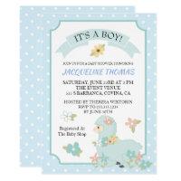 Boy Llama Baby Shower Invitation