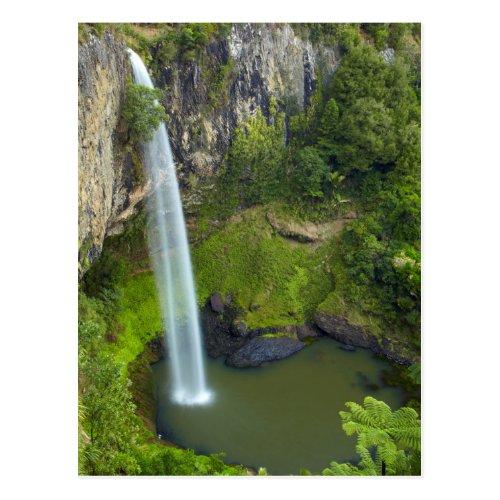 Bridal Veil Falls, New Zealand Postcard