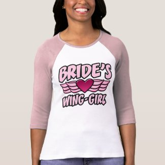 Bride's Wing-Girl Bachelorette Party shirt