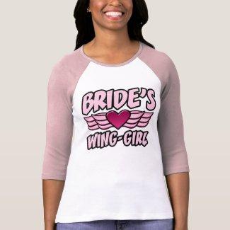 Bride's Wing-Girl Bachelorette Party shirt