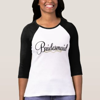 Bridesmaid Tshirt