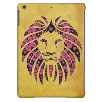 Bright Abstract Pattern Lion ipad air Cases