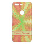 Bright Colorful Orange Yellow Green Abstract Uncommon Google Pixel Case