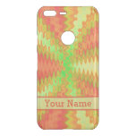 Bright Colorful Orange Yellow Green Abstract Uncommon Google Pixel XL Case