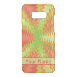 Bright Colorful Orange Yellow Green Abstract Uncommon Samsung Galaxy S8+ Case
