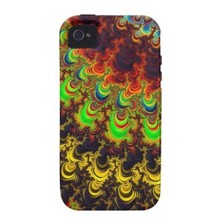 Bright Fractal Design Case-Mate iPhone 4 Cases