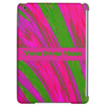 Bright Pink Green Color Abstract iPad Air Cases